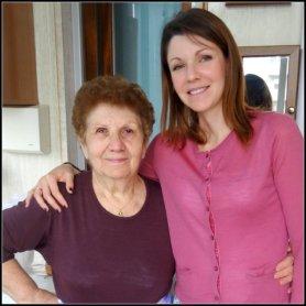 Nonna Mariuccia, quella che mi ha sempre chiamata Gula d'la majun