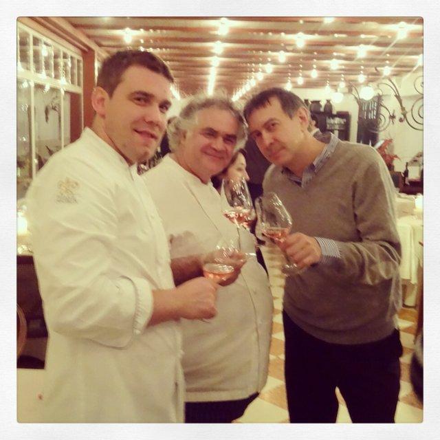 Luis Haller, Giovanni D'Amato e Carlo Vischi