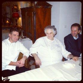 Luis Haller, Giovanni D'Amato e Alberto Medici