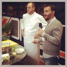 """Luca Sessa del blog """"Per un pugno di capperi"""" presenta lo chef Errico Recanati del Ristorante Andreina di Loreto (AN)"""