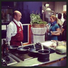 Alessia Bianchi del blog Dolcezze di Nonna Papera presenta Roberto Caruso di Sheraton Malpensa.