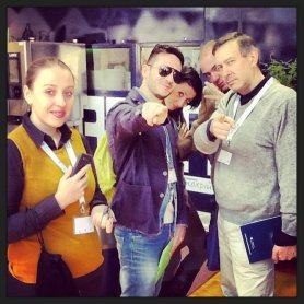 La squadra di Carlo Vischi alla Gourmet Arena
